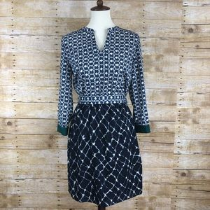 Collective Concepts Printed Dress in a size S